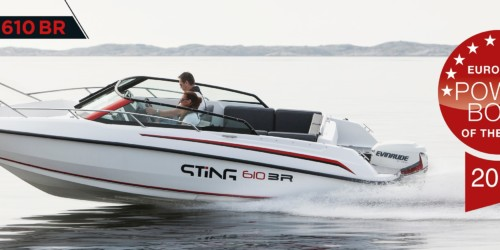 Powerboat of the Year sting 610BR